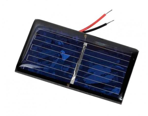 Solarpanel 400mA / 0,5V, 30 x 55mm