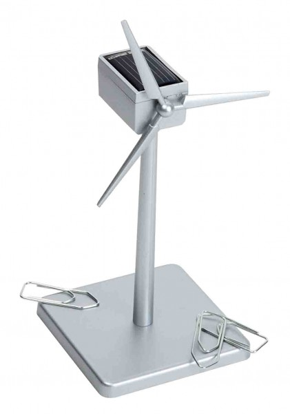 Windgenerator - Solar ABS silber 16 cm