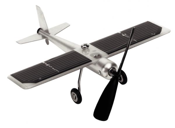 Solar-Flugzeug / Tischmodell