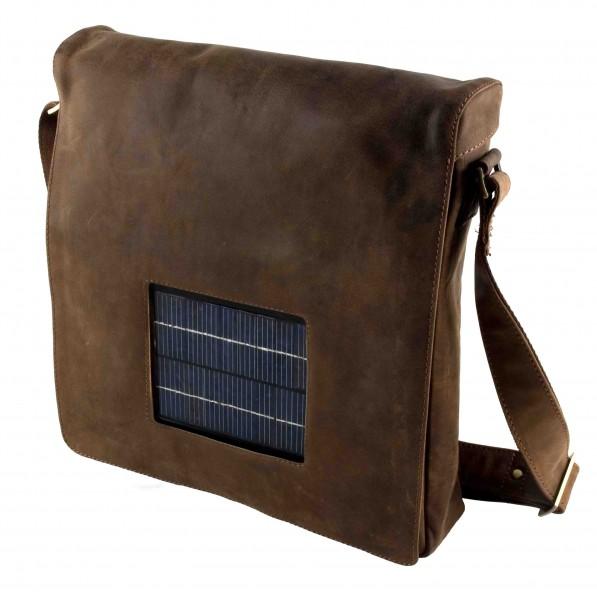 Solar Tasche Leder 7L - 1,5W